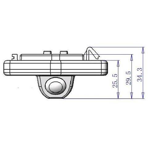 Автомобильная камера заднего вида для Honda Accord Превью 2