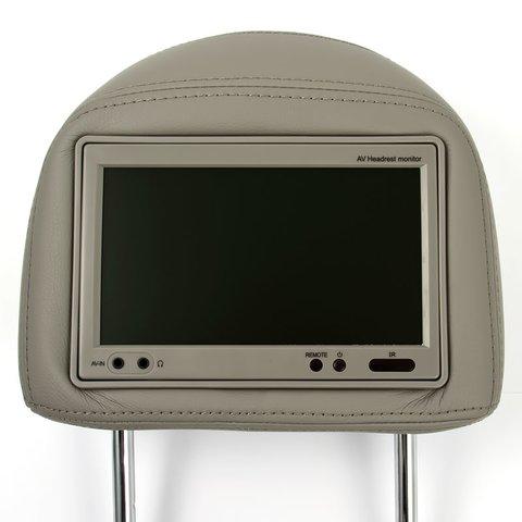 """Подголовник с 7"""" монитором для Toyota RAV4 Превью 1"""
