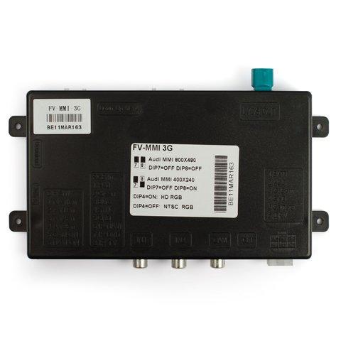 Видеоинтерфейс для Audi A4, A5, A6, Q5, Q7 c системой MMI 3G Превью 1