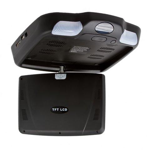 """9"""" Автомобільний стельовий монітор з DVD-плеєром (чорний) Прев'ю 3"""