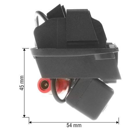 Камера заднего вида в ручку багажника для Mercedes-Benz C-класса 2012-2013 г.в. Превью 2