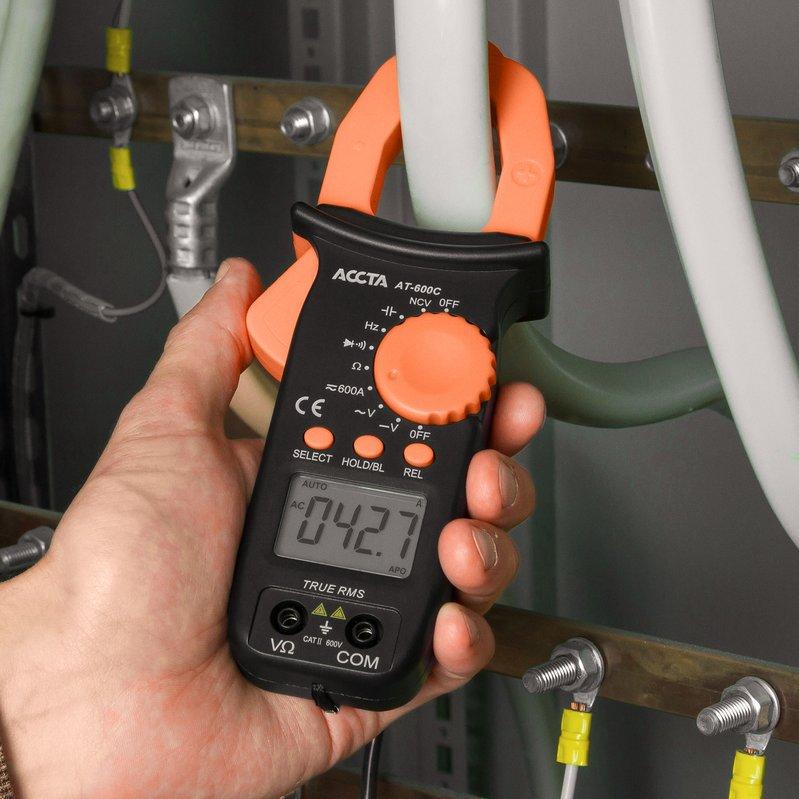 Струмовимірювальні кліщі Accta AT-600C Зображення 5