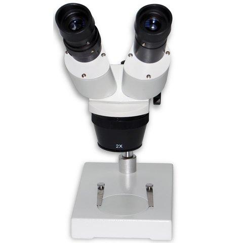 Бінокулярний мікроскоп XTX-6A (10x; 2x/4x) Прев'ю 1