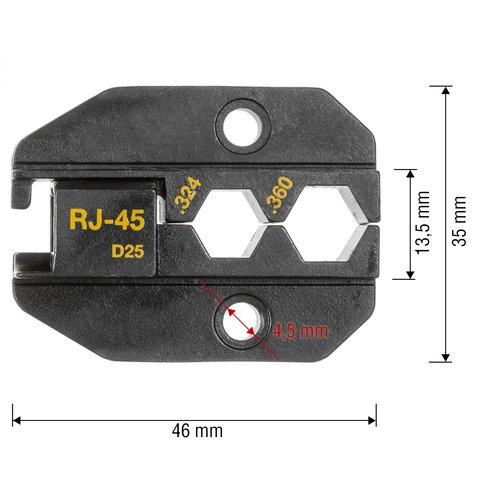 Матриця для кримпера Pro'sKit 1PK-3003D25 Прев'ю 1