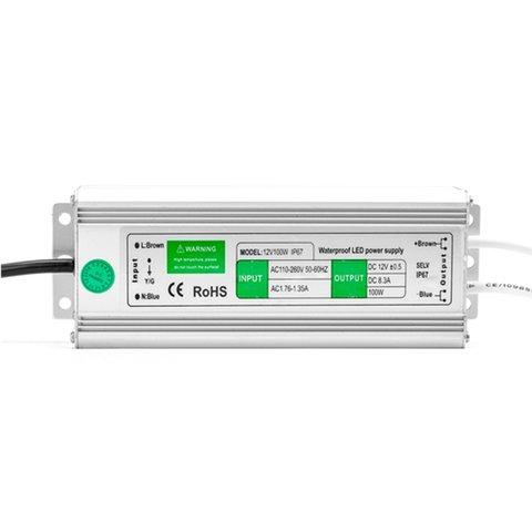 Блок живлення для світлодіодних стрічок 12 В, 12.5 A (150 Вт), 90-250 В, IP67 Прев'ю 3