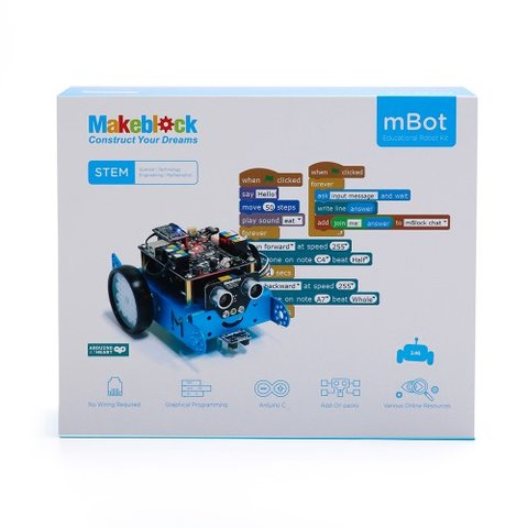 Конструктор Makeblock mBot v1.1 (синий)