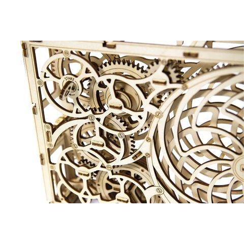 Дерев'яний механічний 3D-пазл Wooden.City Кінетична картина