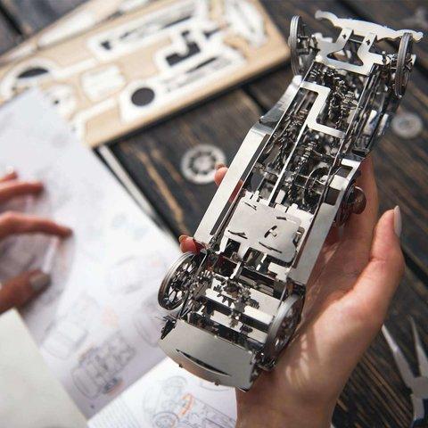 Металевий механічний 3D-пазл Time4Machine Glorious Cabrio Прев'ю 16