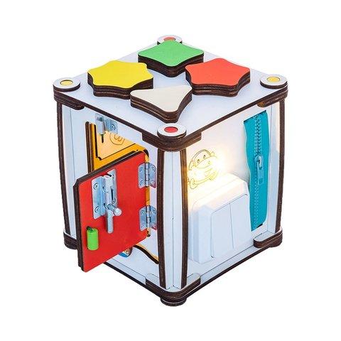 Бізіборд GoodPlay Кубик для розвитку з підсвіткою (17×17×18) Прев'ю 1