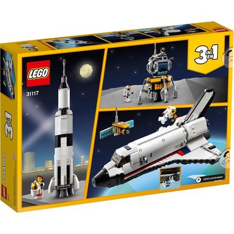 Конструктор LEGO Creator Пригоди на космічному шатлі 31117 Прев'ю 12