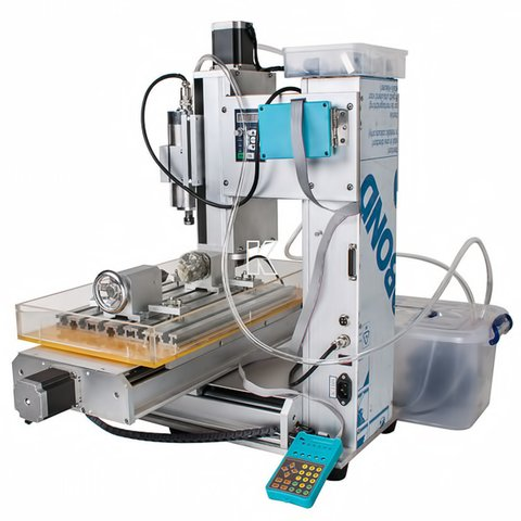 5-axis CNC Router Engraver ChinaCNCzone HY-6040 (2200 W) Preview 3